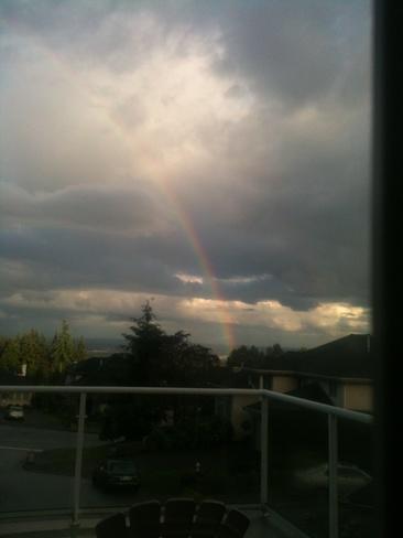 rainbow Coquitlam, British Columbia Canada