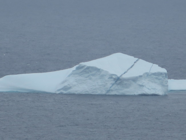 A crack in the iceberg St. John's, Newfoundland and Labrador Canada