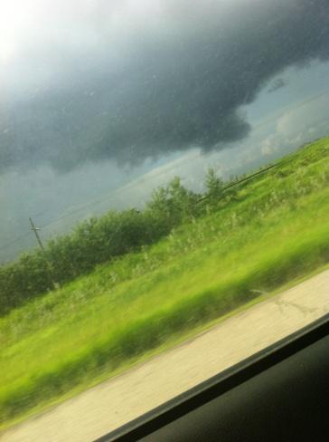 low cloud Regina, Saskatchewan Canada