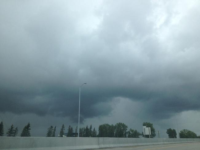 Raining yet again! Winnipeg, Manitoba Canada