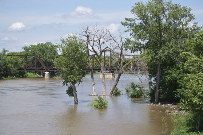 Waters Rising On The Red River