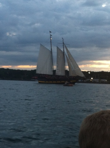 Tall Ships on Canada Day Owen Sound, Ontario Canada