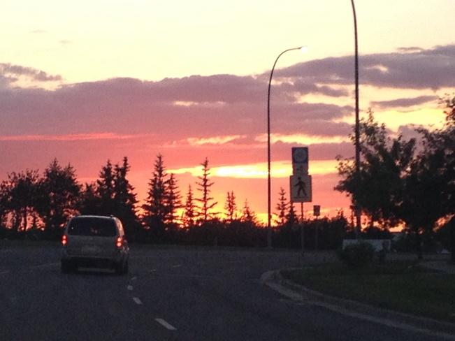 Vanishing Sunset Calgary, Alberta Canada
