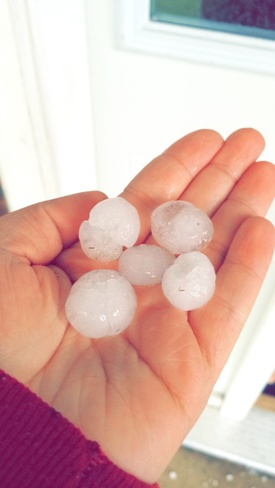 holy hail! Prince George, British Columbia Canada