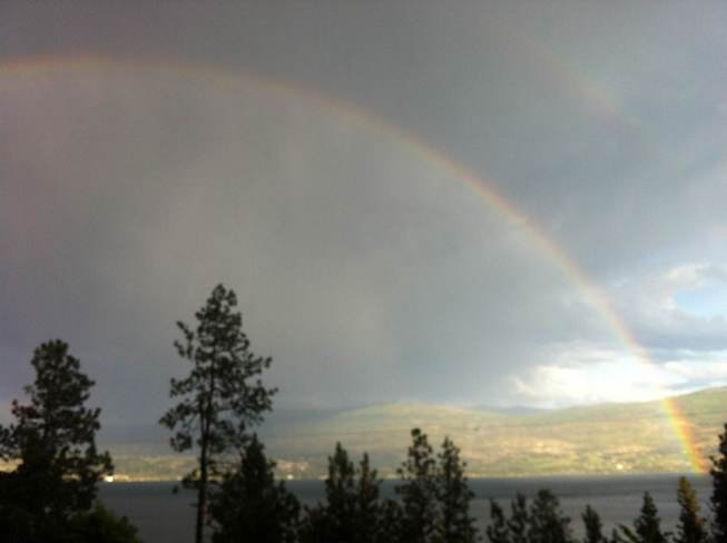 rainbow Lakeview Heights, British Columbia Canada