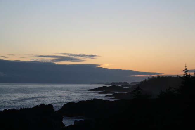 Islands costline Ucluelet, BC