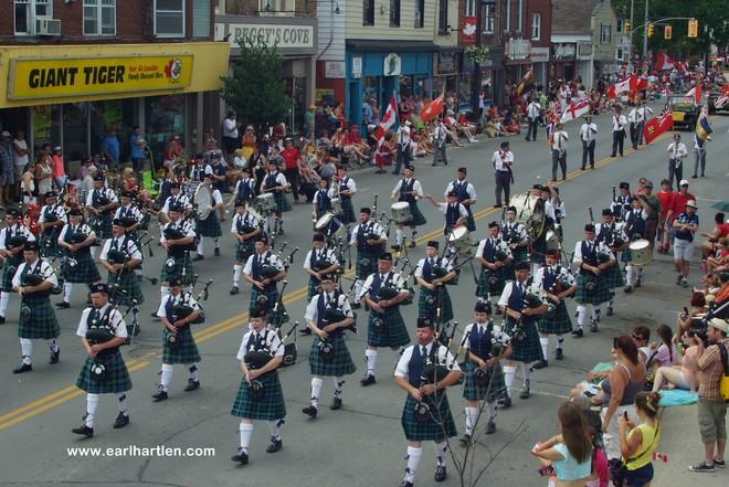 The Paris Port Dover Pipe Band Paris, Ontario Canada