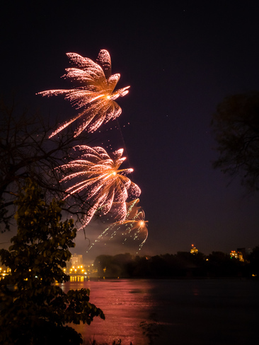 Canada Day Fireworks in Winnipeg Winnipeg, MB