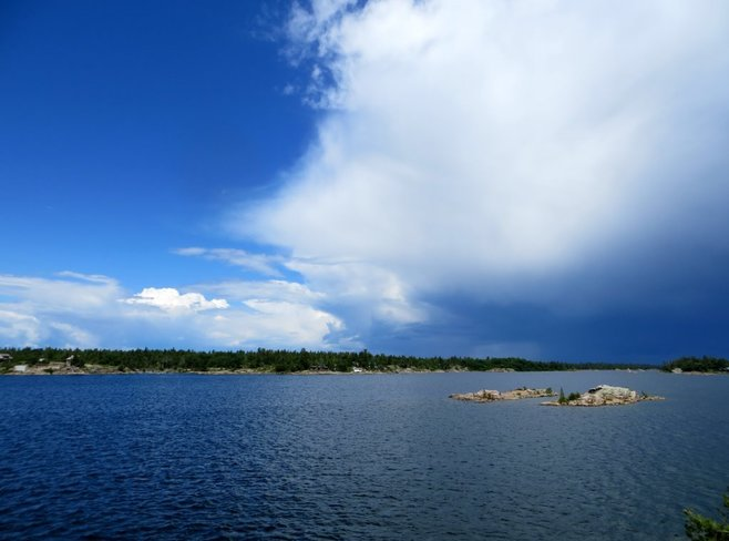 Storm Pointe au Baril, ON