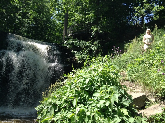 It's a beautiful day for a waterfall! Hamilton, ON