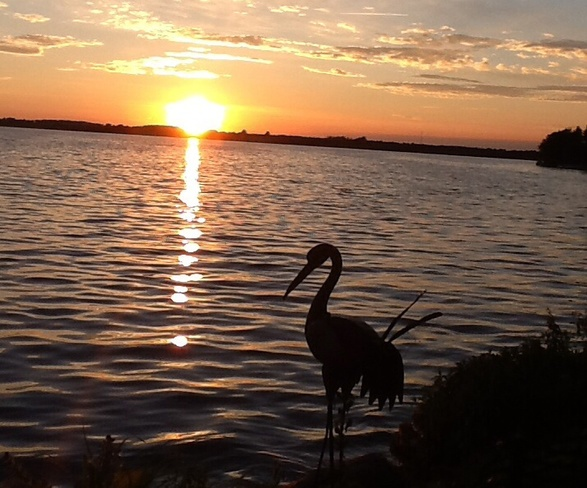 Beautiful sunset at Lake Scugog 140 Starr Boulevard, Little Britain, ON K0M 2C0, Canada