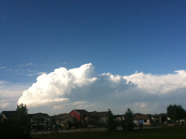 Uh-Oh Thunderstorm? High River, Alberta Canada