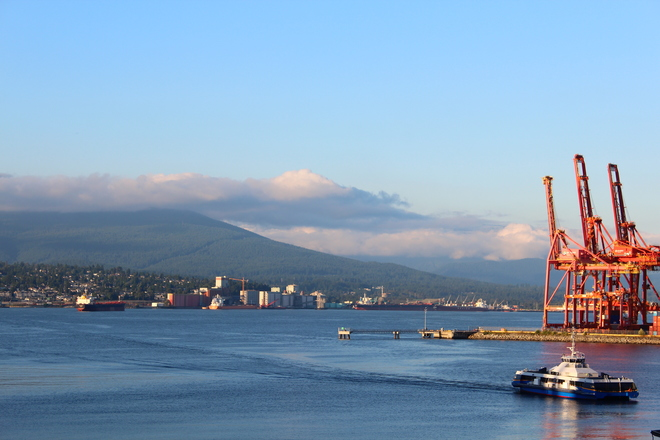 Gorgeous Weather at Downtown Vancouver Richmond, British Columbia