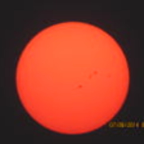 Red Sun over Unity,Sk Unity, SK