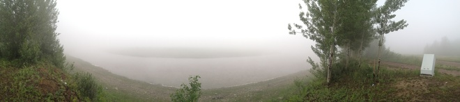 Fogged In! Hay River, Northwest Territories Canada