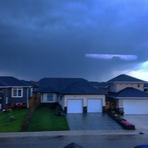 Early morning Thunderstorm in Saskatoon Township Road 380, Corman Park No. 344, SK S0K, Canada
