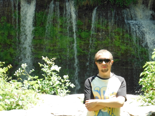 Me at ball's falls conservation area Vineland, Lincoln, ON