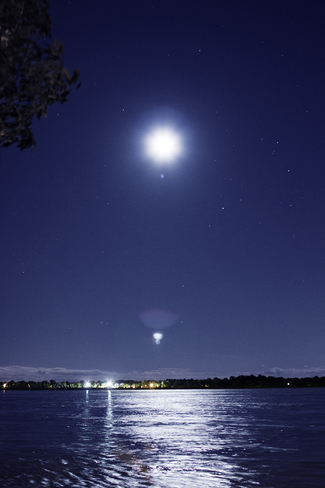 Moonrise Chemin du Canal, Lachine, QC H8S, Canada