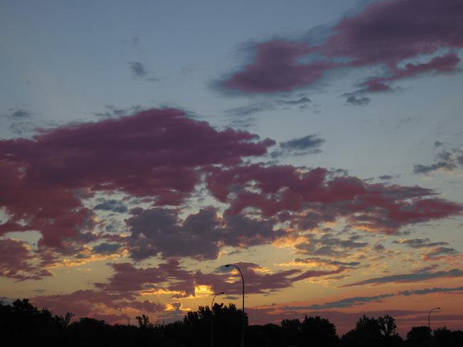 A warm (20C), humid (89%RH)July morning, Winnipeg, MB