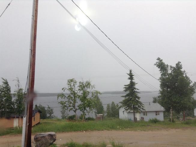 RAIN IN CAT LAKE Cat Lake, Ontario Canada