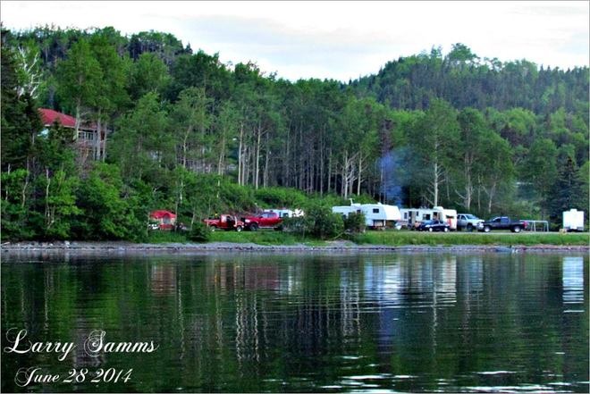 """Camping in The Cove"" South Brook, NL"