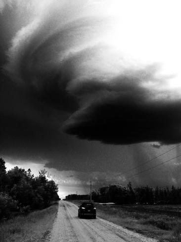 Summer Solstice Storm Tyndall, Manitoba Canada