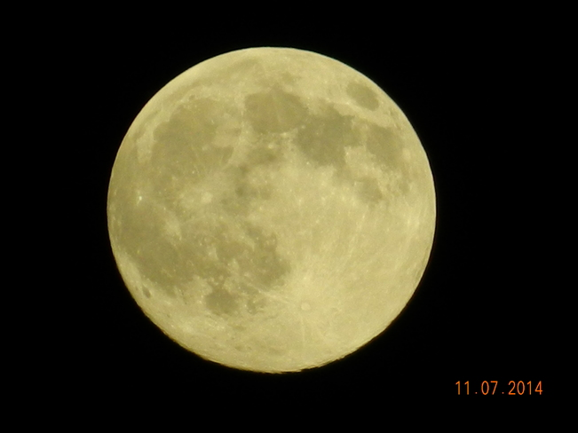 Super Moon July 2014 Kingston, ON