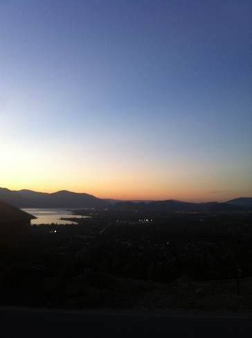 sunset Kelowna, British Columbia Canada