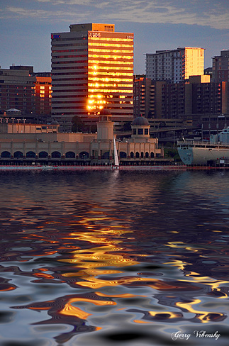 Sunset Reflections Halifax, NS