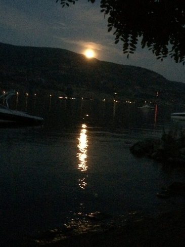 Super Moon from Penticton Penticton, British Columbia Canada