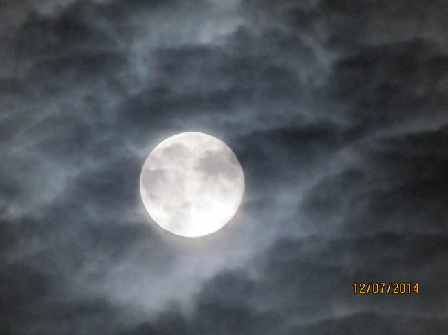 Supermoon July 13,2014 Fredericton, NB