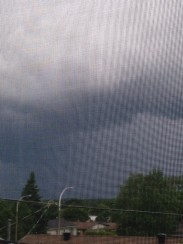 Squall line SW of Timmins Timmins, Ontario Canada