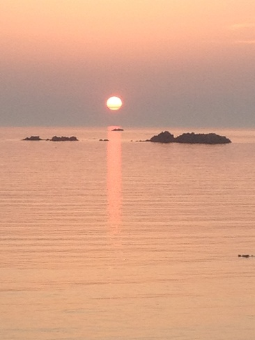 Sunset at Cobo Guernsey Saint Peter Port, Guernsey