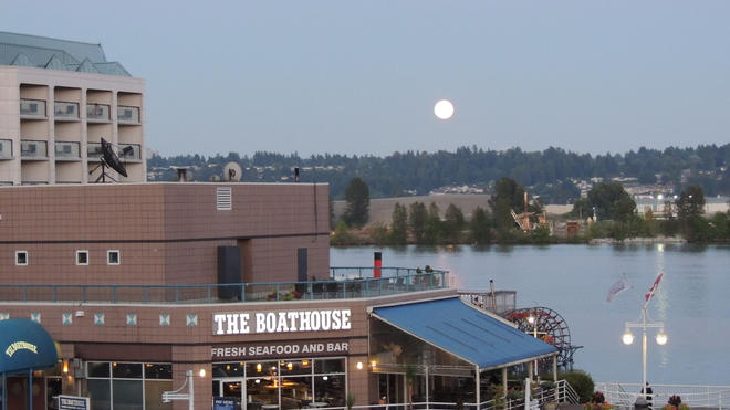 New Westminster. The MOON New Westminster, BC