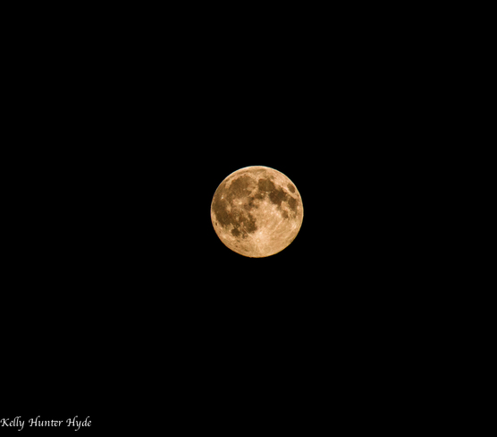 Super Moon Fort McMurray, AB