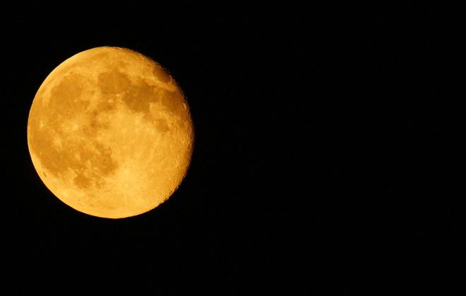 super moon Waterloo, Ontario Canada