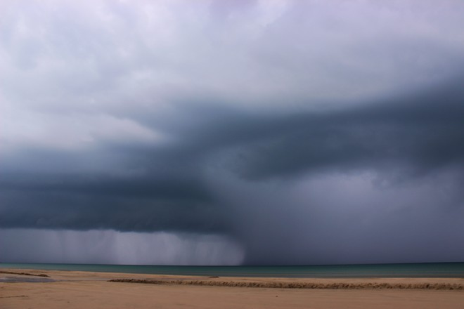 The Storm She's A Comin'! Sauble Beach, Saugeen Shores, ON