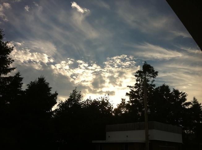 awesome sky Carbonear, Newfoundland and Labrador Canada