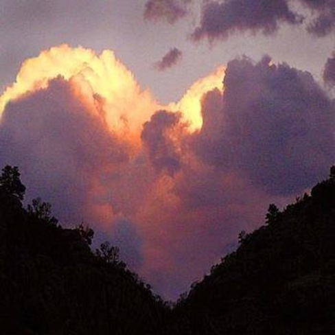 lovers clouds Key Lake, Division No. 18, Unorganized, SK
