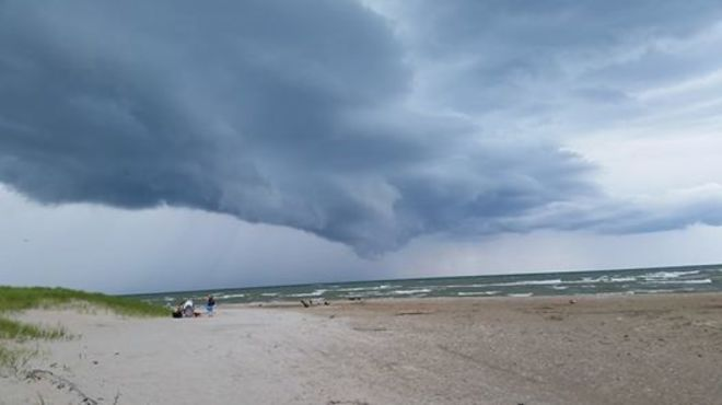 Incoming Storm at Port Frank's, ON Port Franks, Lambton Shores, ON