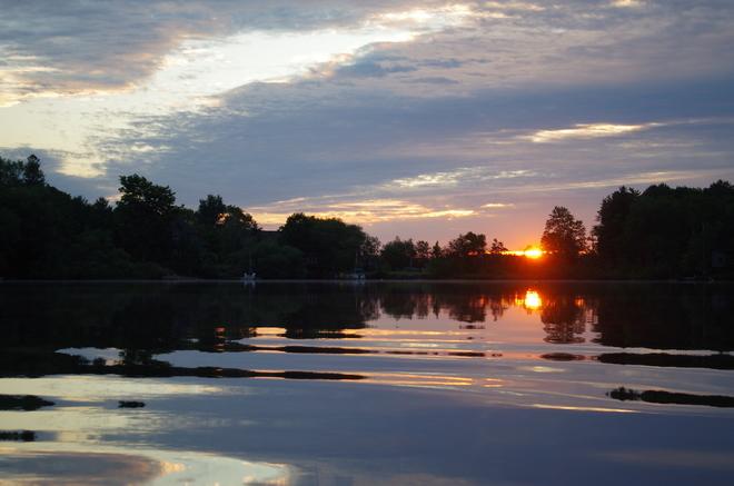 Early Morning Sunrise Huntsville, ON