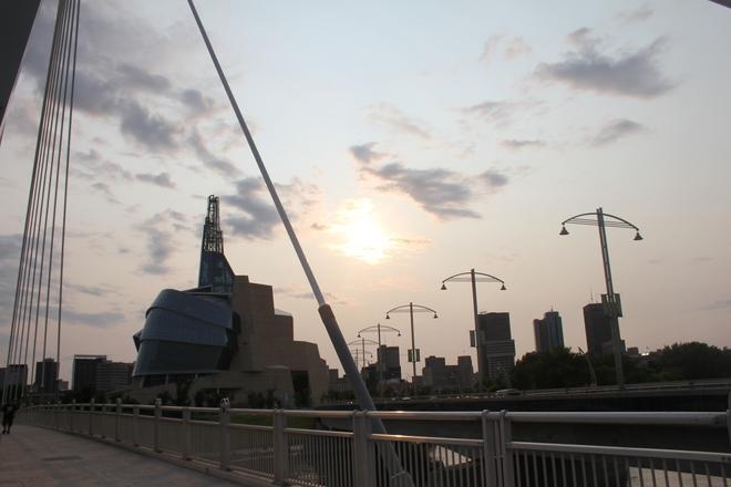 Smoky Sky in Winnipeg Winnipeg, MB