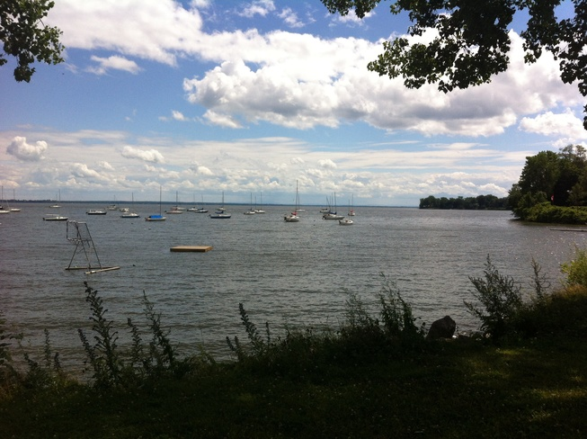 breezy afternoon Pointe-Claire, Quebec Canada