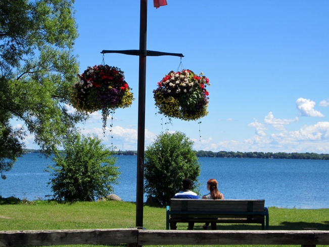 Beautiful Day By the water.... Orillia, Ontario Canada