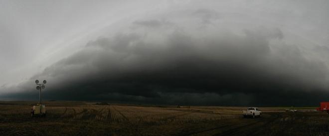 Supercell south of Major, SK Major, Saskatchewan