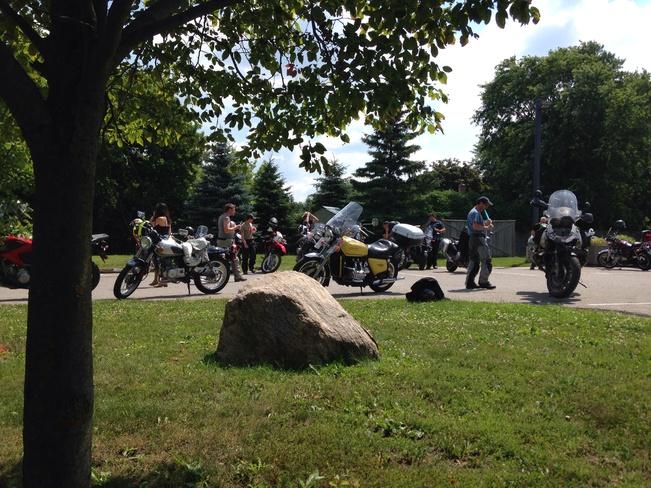summer ride Milton, Ontario Canada