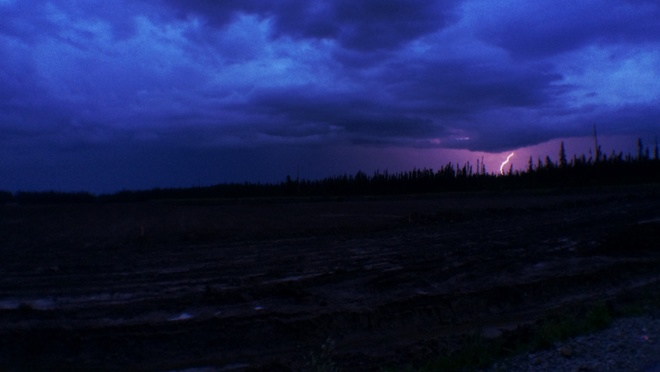 lightning awesome . Fort McMurray, Alberta Canada
