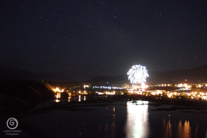 2014 Canada Day Fireworks Invermere, BC