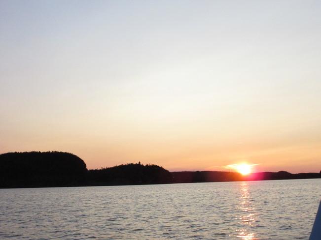 Boating Birchy Bay, NL