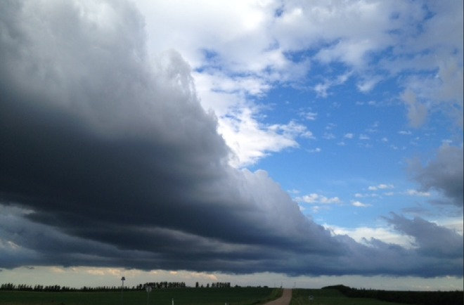 Storm Clouds Beiseker, AB